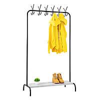 """Стойка для одежды """"Лофт 8 чёрный"""" - 178х100х49 см, фото 1"""