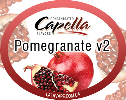 Ароматизатор Capella Pomegranate v2 (Гранат V2)