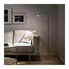 Торшер / лампа для чтения IKEA JANSJÖ светодиодный цвет алюминия 203.735.36, фото 3