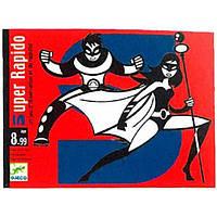 Гра настільна дитяча картонна DJECO Гра Супер Рапідо, DJ05198