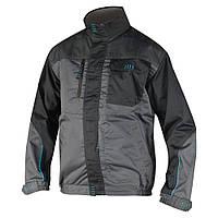 Куртка рабочая мужская мод.4TECH, серо-черная