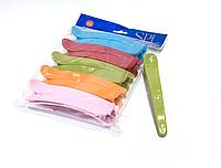 Зажимы для стрижки волос SPL 964087, пластмассовые, (комлект 10 шт.)