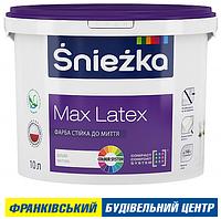 ФАРБА ŚNIEŻKA MAX LATEX 3 л (4,2 кг)