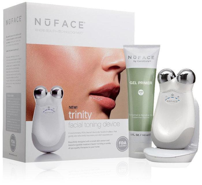 Устройство NuFACE ® с микротоковой технологией Моментально действует на кожу и мышцы лица Код: КГ3963