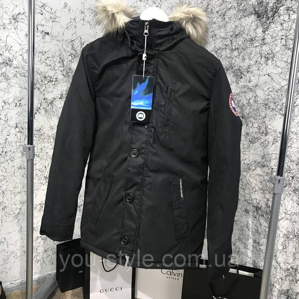Canada Goose Black Carson Parka Jacket