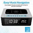 Bluetooth колонка Promate TimeBase-2 Silver, фото 5