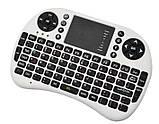 Беспроводная мини клавиатура с тачпадом русская, фото 7