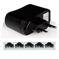 Свитч коммутатор сетевой GV-001-H-05P( 5 портов)