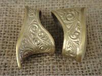 Комплект № 38 навершие и гарда из бронзы