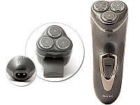 Электробритва 3Вт  3лезвия/триммер/+запасные лезвия  Gemei 7500