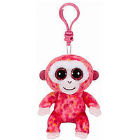 "TY Beanie Boo's 36603 Іграшка м'яконабивна Рожева мавпа ""Ruby"" 12см, 36603"