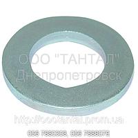 Шайба плоская стальная оцинкованная от 1,6 до 48, ГОСТ 11371-78, DIN 125, ISO 1051