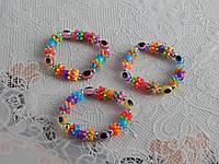 Красивые модные детские браслеты с глазиками, фото 1