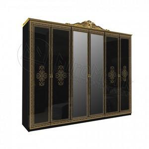 спальня Дженифер шкаф с зеркалом 6Д