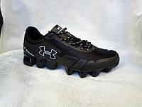 Мужские кроссовки черные с белым Армур Under Armour Scorpio , фото 1