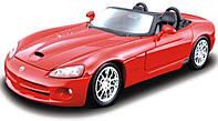 MAISTO Автомодель (1:24) Dodge Viper SRT-10, червоний, 31232 red