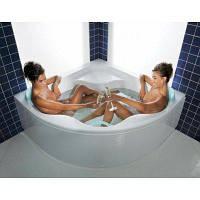 Акриловая угловая ванна Gentiana, 140х140 см.