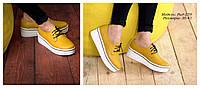 Женская обувь на высокой сплошной подошве, фото 1