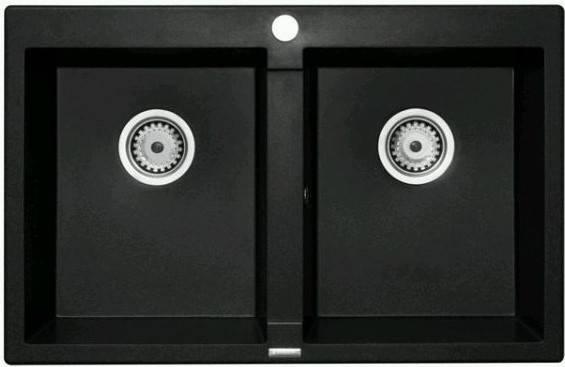 Кухонная мойка PYRAMIS STUDIO (78X50) 2B GRANIT, фото 2
