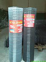 Сетка сварная 25х25мм d0,5мм (1х50м) (оцинкованная) на метраж +10% к цене