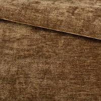 Велюр бархат ткань двухсторонний коричневый (коньячный)