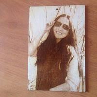 Портрет на дереве (фанера)