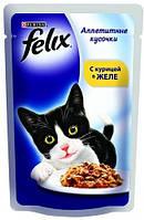 Корм для котов Felix  Purina (Пурина) Феликс с курицей 100г