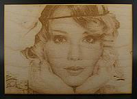 Портрет на дереві (фанера)