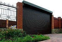 Защитные ролетные ворота Алютех, фото 1