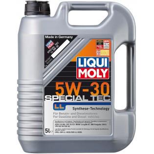Моторное масло синтетика LIQUI MOLY 5W-30 5L Special Tec LL Volkswagen , BMW , Mercedes-Benz