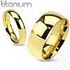 Обручальное кольцо титановое Spikes США