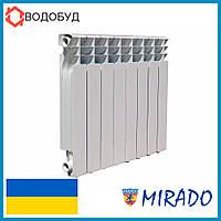 РАДИАТОР БИМЕТАЛЛИЧЕСКИЙ (СЕКЦИОННЫЙ) MIRADO 100x500