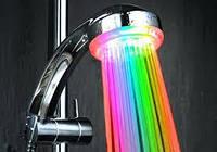 Насадка для подсветки воды из душа Shower Wow Шоуер Воу Цветной душ