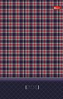 Блокнот Аркуш інтегральна обл, Шотландка, 80арк, 108х169мм, 1В781
