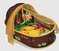 """Меблі дитячі LUDI Манеж-ліжко розвиваючий """"Шоколад"""", 2808"""