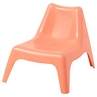 """ИКЕА """"БУНСЁ"""", Детское садовое кресло, светло-оранжевый"""