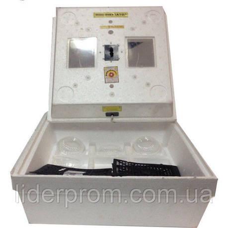 Мини инкубатор Кривой Рог МИ-30 ручной переворот на 80 яиц, мембранный, фото 2
