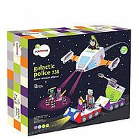 """Krooom 3D-набір ігровий картонний """"Поліція Галактики-738"""", K-306"""