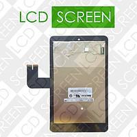 Модуль для планшета 7 ASUS K00B MEMO PAD HD7 ME173X (076C3-0716A), черный, дисплей + тачскрин