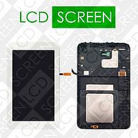 Модуль для планшета Samsung Galaxy Tab 3 Lite 7.0 SM-T110 T110, белый, дисплей + тачскрин