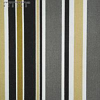 Ткань мебельная бежево коричневые белые полоски ш.150