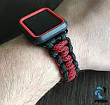 Комплект Primo Ranger для Apple Watch 42mm / 44mm - Black/Red, фото 2