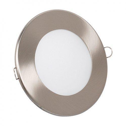 Светодиодный светильник Horoz (HL687L) 6W 6000K круг. мат.хром (потолочный) с трансформат. Код.56865