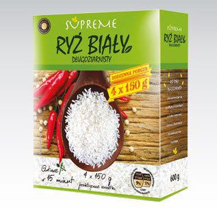 Рис Gwarancja jakosci Ryz Bialy в пакетах 4х150г
