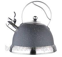 Чайник для индукционных плит со свистком 3 л Bergner BG-3746