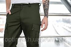 Брюки мужские милитари BRASH олива Maw Manandwolf карго(Cargo) pants cotton