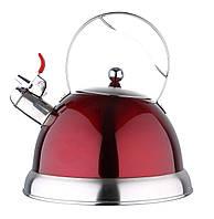 Чайник для индукционных плит со свистком 3 л Bergner BG-3796