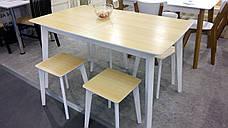"""Стол раскладной на кухню из массива ясеня Сингл Микс мебель, коллекция мебели """"Лофт"""", фото 2"""