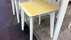 """Стол раскладной на кухню из массива ясеня Сингл Микс мебель, коллекция мебели """"Лофт"""", фото 3"""