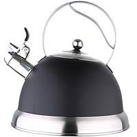 Чайник для индукционных плит со свистком 3 л Bergner BG-3744